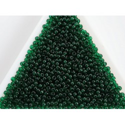 Toho R11-939, Transparent Green Emerald, 10g