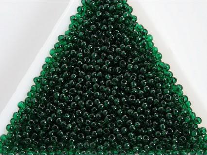 Toho R11-939, Transparent Green Emerald, 10g
