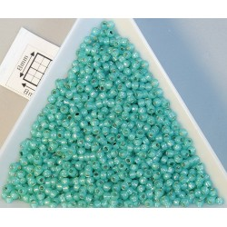Toho R11-2104, Silver-Lined Milky Teal, 10g