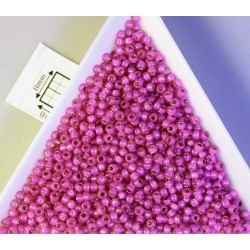 Toho R11-2107, Silver-Lined Milky Hot Pink, 10g
