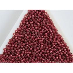 Toho R11-2113, Silver-Lined Milky Pomegranate, 10g