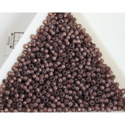 Toho R11-2114, Silver-Lined Milky Nutmeg, 10g