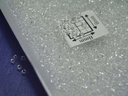 Toho R15-1, Transparent Crystal, 5g