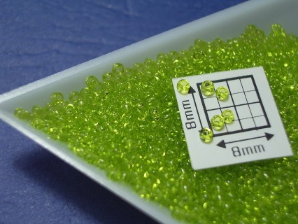 Toho R15-4, Transparent Lime Green, 5g