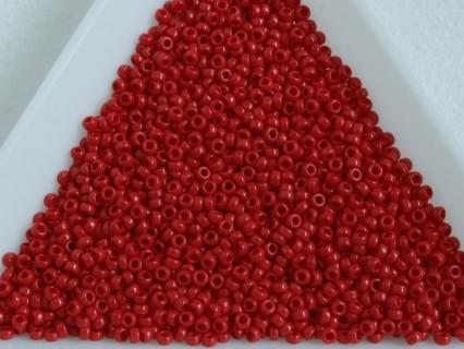 MR15-408 margele Miyuki 15/0 - Opaque Dark Red, 5g