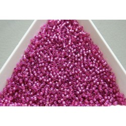 Toho R15-2107, Silver-Lined Milky Hot Pink, 5g