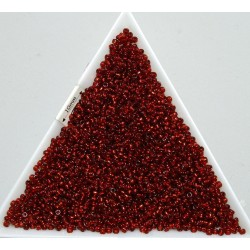 Toho R15-25C, Silver-Lined Ruby, 5g