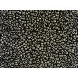 Miyuki Rocaille MR11-2006, Mat Metallic Dark Bronze, 5g