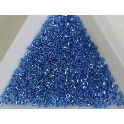 Delica DB77 - Blue Lined Crystal AB - margele Miyuki Delica 11/0 ( 5g )