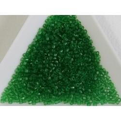 Delica DB705 - Transparent Green - margele Miyuki Delica 11/0, 5g