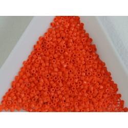 Delica DB722 - Opaque Orange - margele Miyuki Delica11 - 5g