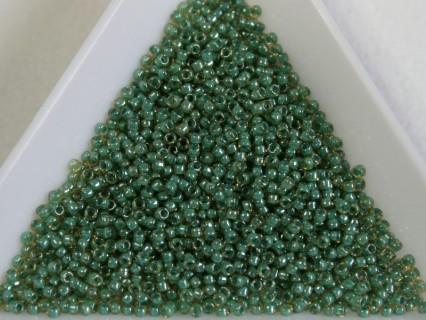 Toho R15-380, Inside-Color Topaz/Mint Julep Lined, 5g
