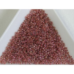 Toho R15-784, Inside-Color Rainbow Crystal/Sandstone Lined, 5g