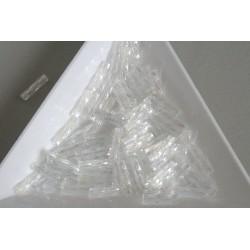 TW03-161, margele Toho tub rasucit 9mm, Trans-Rainbow Crystal, 10g