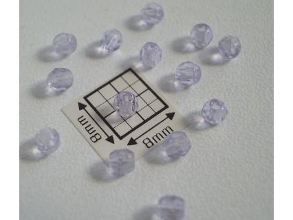 FP 3 Alxandrit - margele firepolish 3mm, culoarea alexandrit transparent (50 buc) CE-3-05