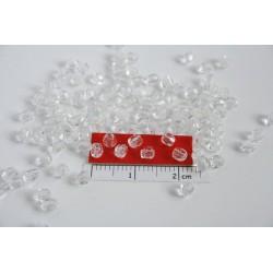 FP 3 - margele firepolish 3mm, culoarea cristal (100 buc) CE-03-202