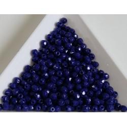 FP 3 - margele firepolish 3mm, culoarea navy blue (100 buc) CE-03-280