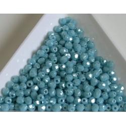 FP 3 - margele firepolish 3mm, culoarea luster sky blue coral (100 buc) CE-03-283