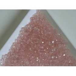 FP 3 - margele firepolish 3mm, culoarea rosaline (100 buc) CE-03-287