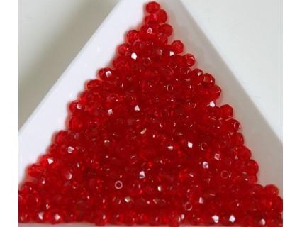 FP 3 - margele firepolish 3mm, culoarea siam ruby (100 buc) CE-03-292