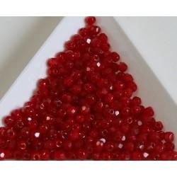 FP 3 - margele firepolish 3mm, culoarea opal red (100 buc) CE-03-294