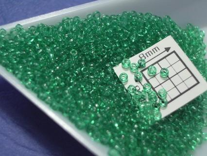 Toho R15-72, Transparent Beach Glass Green, 5g