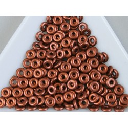 O-beads 4mm, Copper, 1g