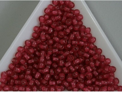 Margele sticla presata rotunde 3mm, padparadscha (5g)
