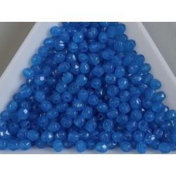 FP-03-316 margele firepolish 3mm, culoarea opaque blue (100 buc)