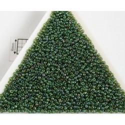 Toho R15-322, Gold-Lustered Emerald, 5g