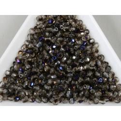 FP 2.5 - margele firepolish 2.5mm, culoarea cristal azuro (100 buc) CE-02-10