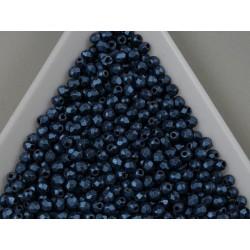 FP 2.5 - margele firepolish 2.5mm, culoarea metallic suede blue (100 buc) CE-02-37