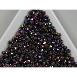 FP 2.5 - margele firepolish 2.5mm, culoarea iris purple (100 buc) CE-02-38