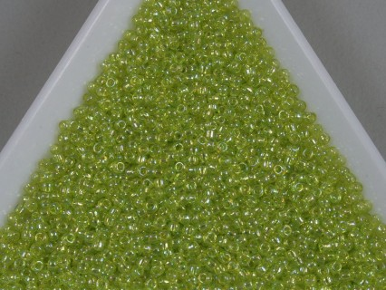 Toho R15-164, Trans-Rainbow Lime Green, 5g