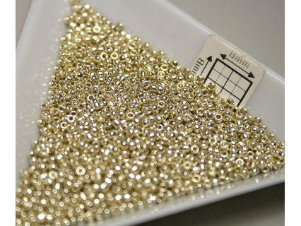 Toho R15-PF558, Permanent Finish - Galvanized Aluminum, 5g