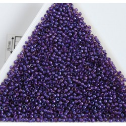 Toho R15-928, Inside-Color Rainbow Rosaline/Opaque Purple Lined, 5g
