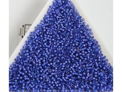 Toho R15-934, Inside-Color Lt Sapphire/Opaque Purple Lined, 5g