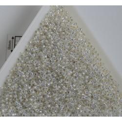 Toho R15-2100, Silver-Lined Milky White, 5g