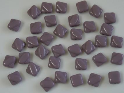 Margele sticla Cehia silky 6 mm, opaque purple (10 buc)