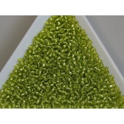 Toho R11-24 Silver lined Lime Green, 10g