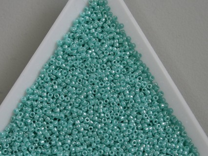 Toho R15-132, Opaque-Lustered Turquoise, 5g