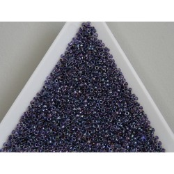 Toho R15-181, Inside-Color Rainbow Crystal/Tanzanite-Lined, 5g