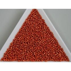 Toho R15-PF562, Permanent Finish - Galvanized Saffron, 5g