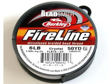 FireLine 6LB crystal, 50 yards ( bobina 45.7m )