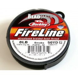 FireLine 8LB smoke, 50 yards ( bobina 45.7m )