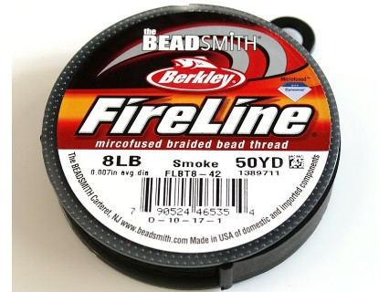 FireLine 8LB smoke, 50 yards ( bobina 45.7m )