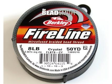 FireLine 8LB crystal, 50 yards ( bobina 45.7m )