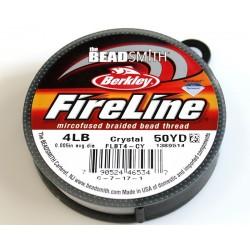 FireLine 4LB crystal, 50 yards ( bobina 45.7m )
