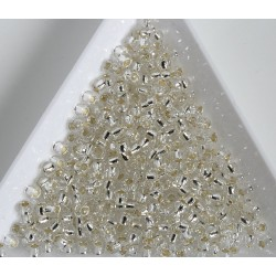 Toho R8-21, Silver-Lined Crystal, 10g