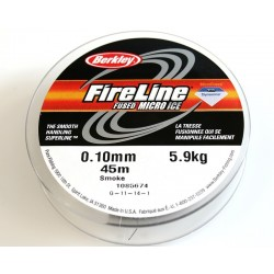 FireLine 0.10mm smoke, 5.9kg test ( bobina 45m )